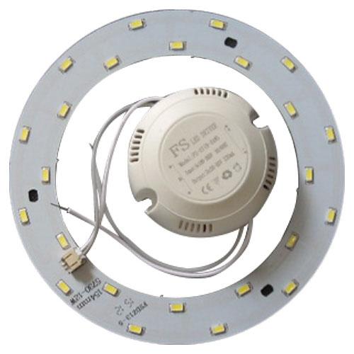 Juegos de piezas para armar lámparas LED (redondos)